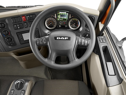 DAF LF Euro 6 Interior | G D Harries & Sons