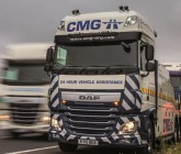 UK's first DAF XF 6x2 heavy recovery units take the strain for CMG